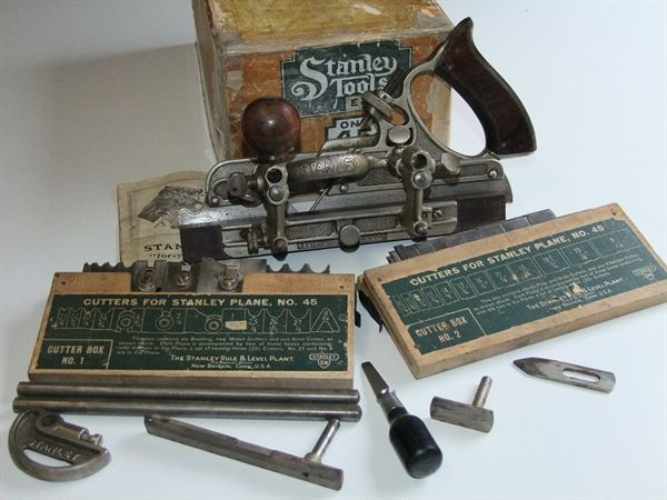 Boxed Stanley Sweetheart No 45 @ www.theoldtoolshed.co.uk £92.00