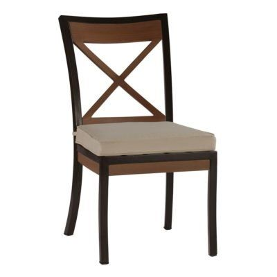 Summer Classics Belize Patio Dining Chair with Cushion Color: Tropical Silhouette Emerald