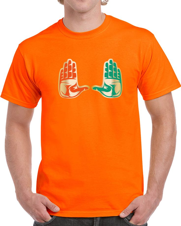 Miami Florida Turn Over Chain Football T Shirt