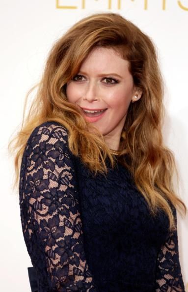 Natasha Lyonne on the red carpet at the 2014 Emmy Awards.