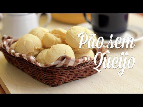 Pão sem Queijo (Pão de Queijo Vegano) - Presunto Vegetariano