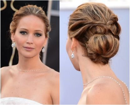 Relaxed Updo Updo And Jennifer Lawrence On Pinterest