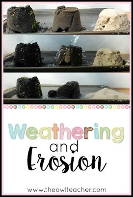 Hands-on Science Activity to Teach Weathering and Erosion
