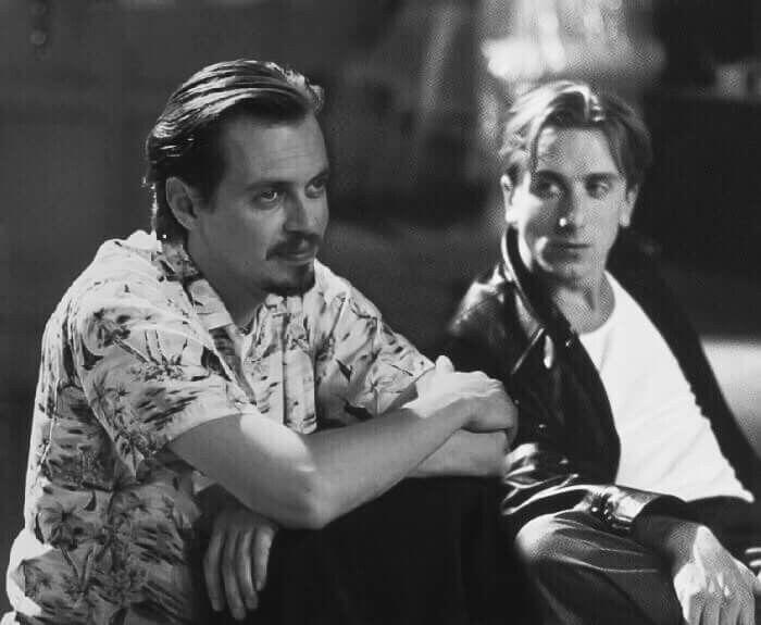 Tim Roth & Steve Buscemi in Reservoir dogs