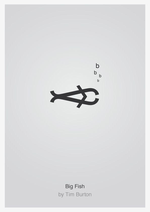 typographie affiche film 04 Affiches typographiques de films  design bonus