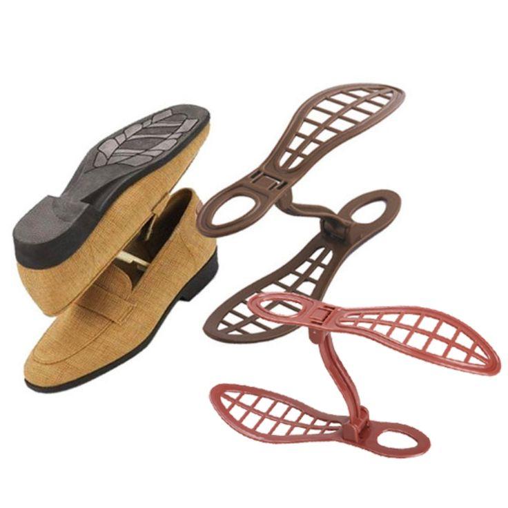 1 pair Sepatu Rack Organizer Ruang Saver Desain Berventilasi Sepatu Organisasi Penyimpanan Rak