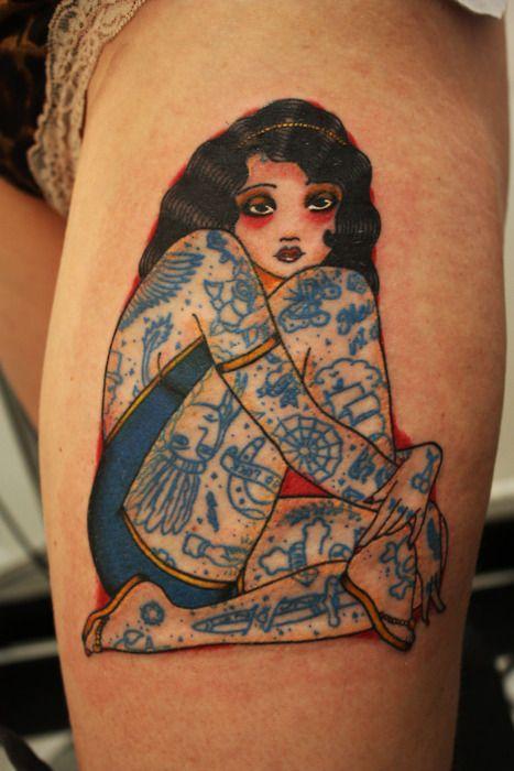 pinup #tattoo