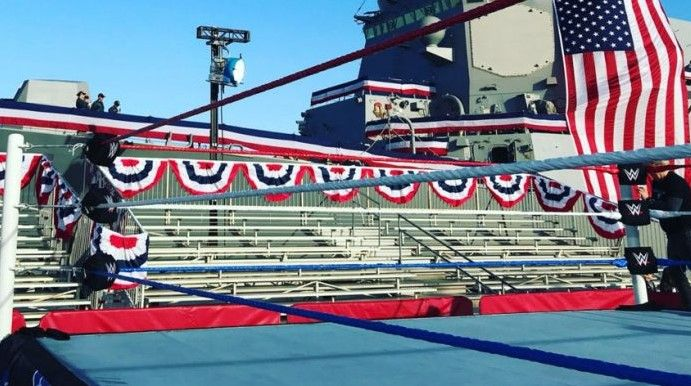 This week before edition of the SmackDown Live, WWE celebrated the recording of ...
