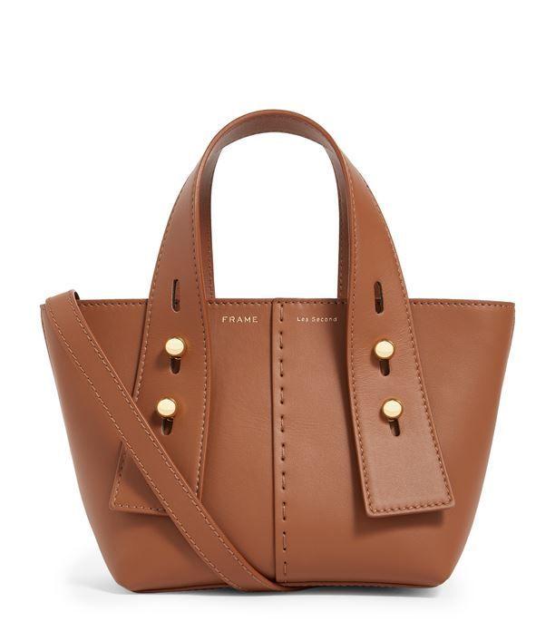 Frame Leather Les Second Shoulder Bag Harrods Com Bags