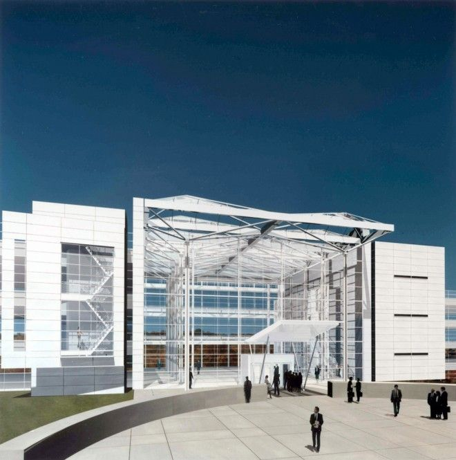 Swiss RE Headquarters Competition – Richard Meier & Partners Architects