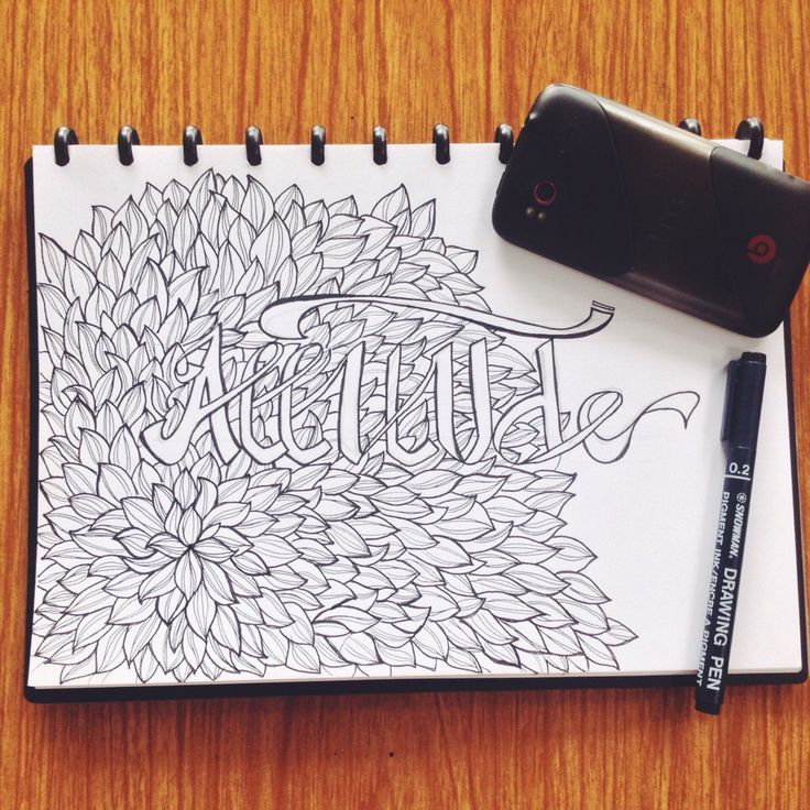 Attitude -  #doodleArt #indonesia #handrawing #bnw