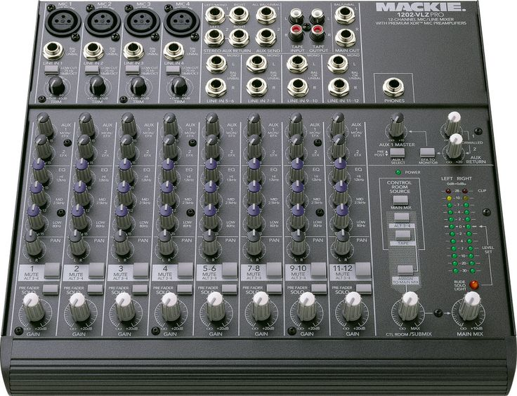 Mackie 1202-VLZ Pro Mixing Console