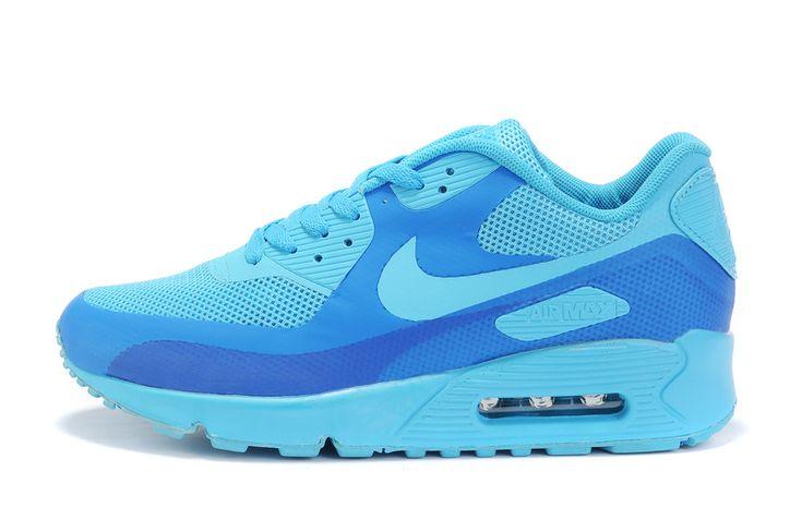 Nike Air Max 90 Homme Chaussures bleu