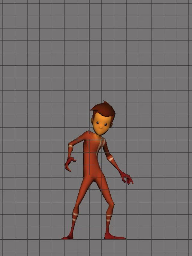 Haven't really done anything even remotely cartoony so here is my stepping stone into it... It's not really pushed but I felt like it was a good start for leading into next test.  Keep checking this space as there will be others in the coming weeks.  Rig via Animation Mentor