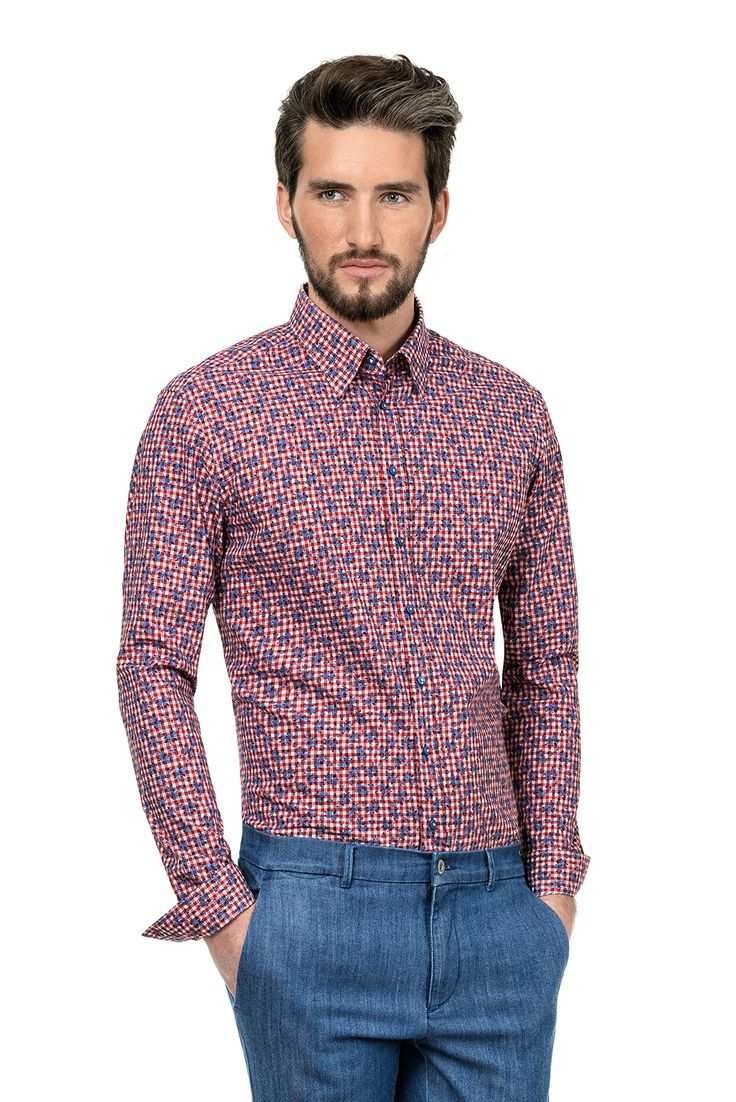 Nice shirts with a large variety of prints available at Bigotti + 7,5% cashback for buying through CashOUT #cashback #menshirts #onlineshopping