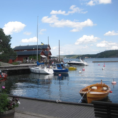 visiting stockholm's archipelago. yes!