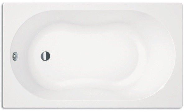 Badewanne Mit Dusche G?nstig : Badewanne 120 x 70 x 45 cm wei? kleine Badewanne mit Duschbereich