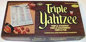 Triple Yahtzee (ES Lowe)