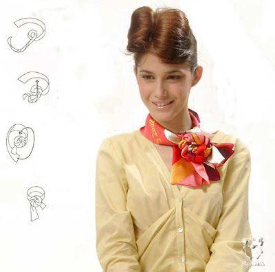 Maneras de como ponerse un pañuelo en el cuello : cositasconmesh