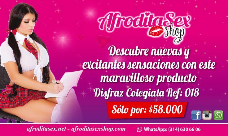 ¡Disfruta de las Promociones Sex! Encuentra gran variedad de artículos eróticos y lencería en http://afroditasexshop.com/ Whatsapp 314 630 66 06