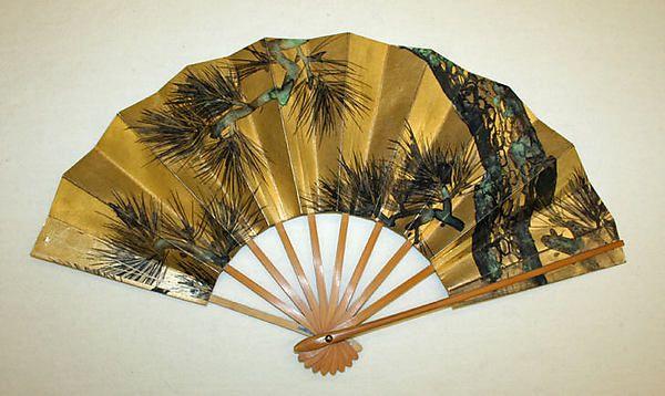 Early 20th c. Japanese Fan