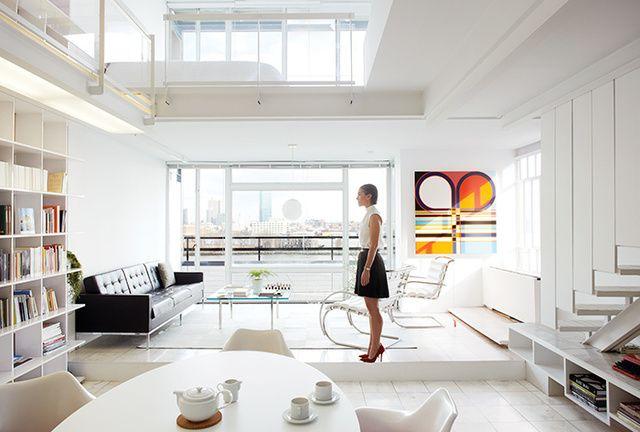 Bienvenue chez les grands artistes : Chez Sarah Morris à New York