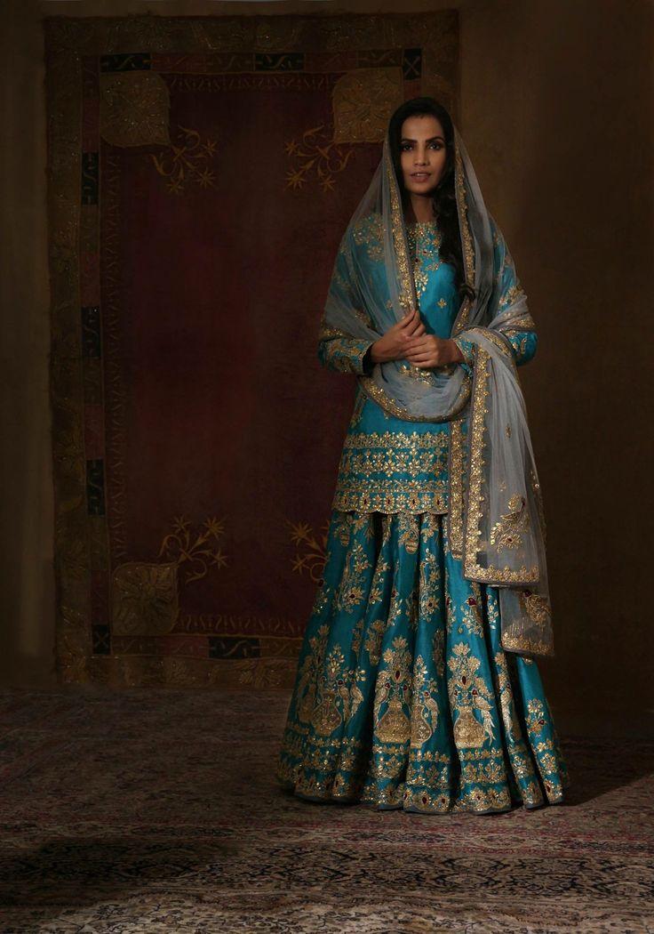 Firozi wedding dress beautiful