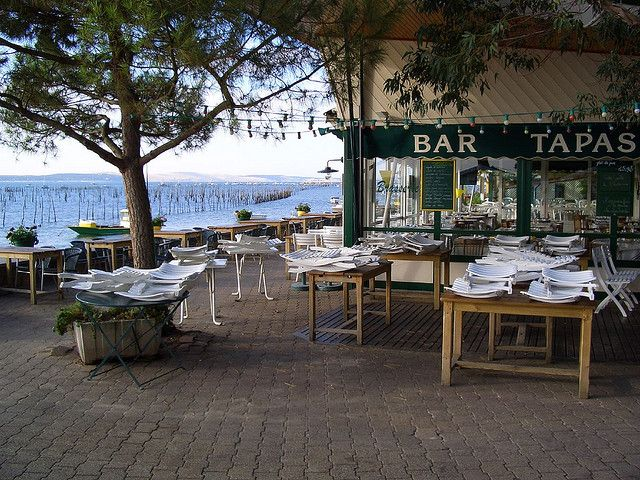 CAP FERRET : restaurant L'Escale by Altaide, via Flickr  here too!