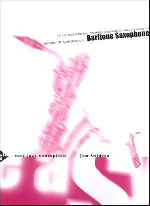 Jamey Aebersold Jazz: Easy Jazz Conception for Baritone Sax