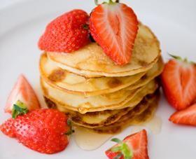 Lekker voor bij het ontbijt: Citroen-ricottapannenkoekjes