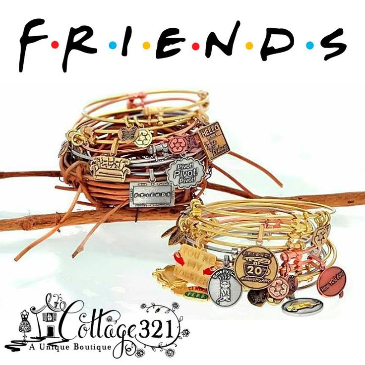 """Angelica TV Show """"Friends"""" inspired bracelets... SO MUCH FUN!"""