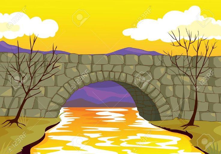 Stone bridge clipart - Clipground