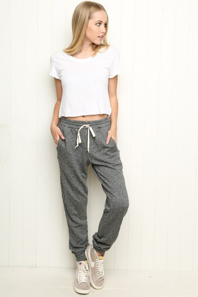Brandy ♥ Melville | Rosa Sweatpants - Bottoms - Clothing
