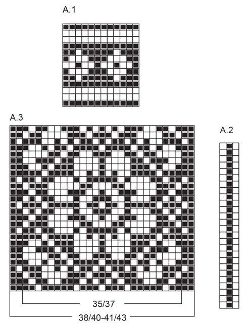 Calcetines de punto con patrón multicolor en DROPS Fabel. Tallas 35 a 43 Patrón gratuito de DROPS Design.