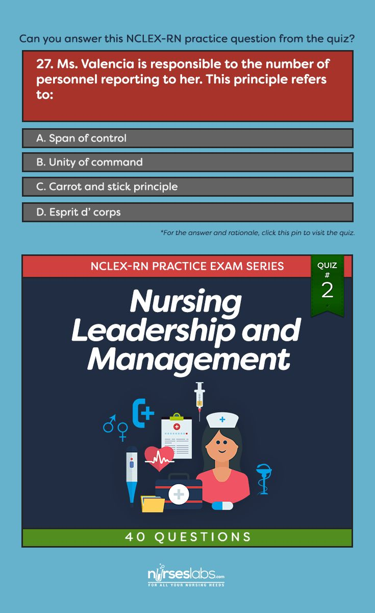 best ideas about nursing leadership nursing nursing leadership management nclex practice quiz 2 40 questions