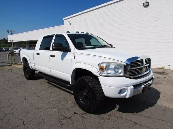 2007 Dodge Mega Cab 3500 44 Diesel Laramie Ram Used Pickup Trucks (27025_WeFinance)