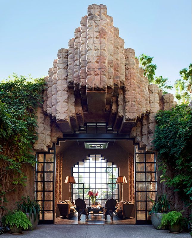 Incroyable Frank Lloyd Wright Started This Project 1926 With His Son (Frank) Lloyd  Wright (Jr. Lloyd Wright Completed The Design And Went On To Design  Beautiful ...