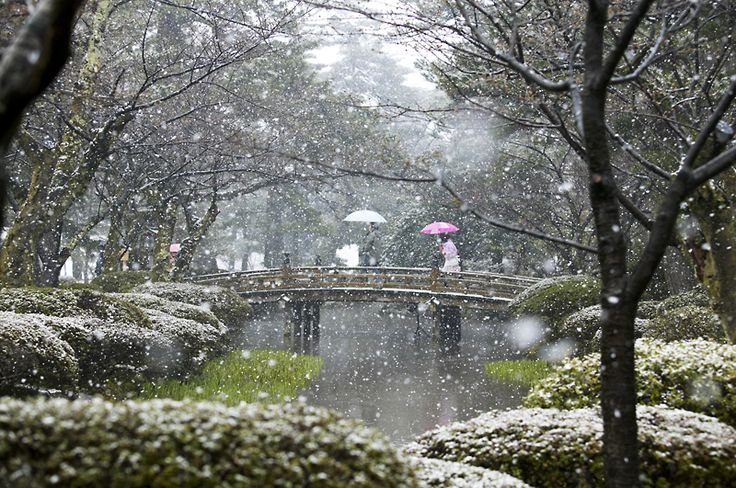 Gardens of Kanazawa, Japan