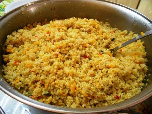 Pilaf de Quinoa