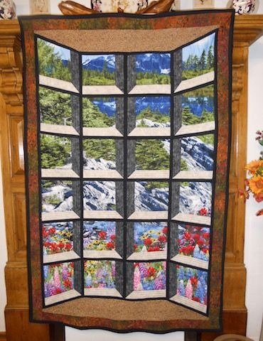 Bay Window Illusion Quilt By Willowsews Quilting