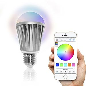 9. Flux Wireless Multi Color LED Smart Bulb