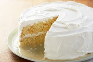 Layered Lemon Tres Leches Cake recipe- So many different ways to make a tres leches cake. Love it!!!