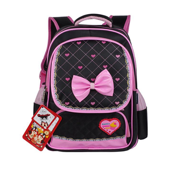 High Quality Lovely Princess Kids School Bag Primary School Boys Girls Alleviate Burden Shoulder Bags Waterproof Backpacks