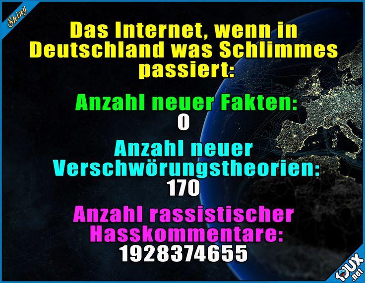 Willkommen im Internet... #Düsseldorf #Amoklauf #Deutschland #Anschlag #Sprüche #Nachrichten #sowahr #Opfer #Übertreibung