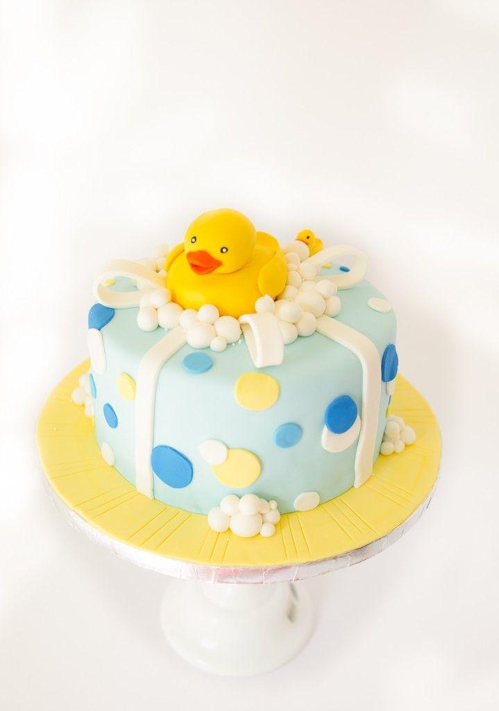 Rubber Duck Babyshower Cake