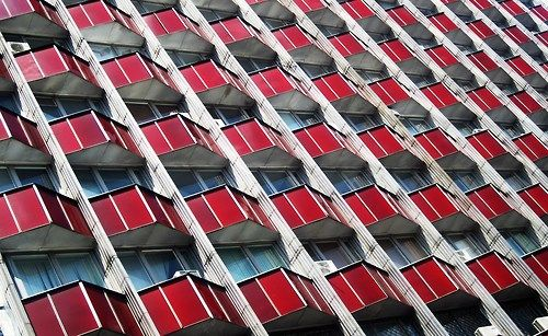 Soviet Constructivism in Chisinau, Moldova - http://arinacretu.tumblr.com/tagged/constructivism