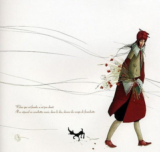 Rebecca Dautremer   ILLUSTRATION | Red Passion