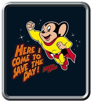 Mighty Mouse cartoons on Saturday morning