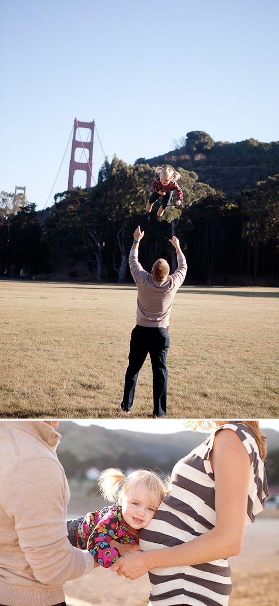 San Francisco Family Maternity Photos #maternity #pregnancy #family