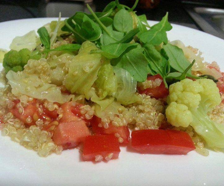 quinoa con verduras para adelgazar